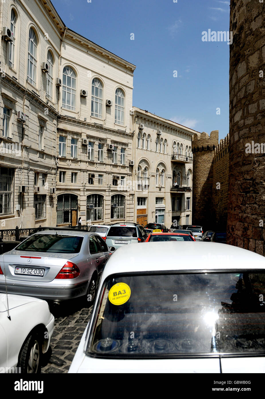 Travel Stock - Baku - Azerbaijan - Stock Image