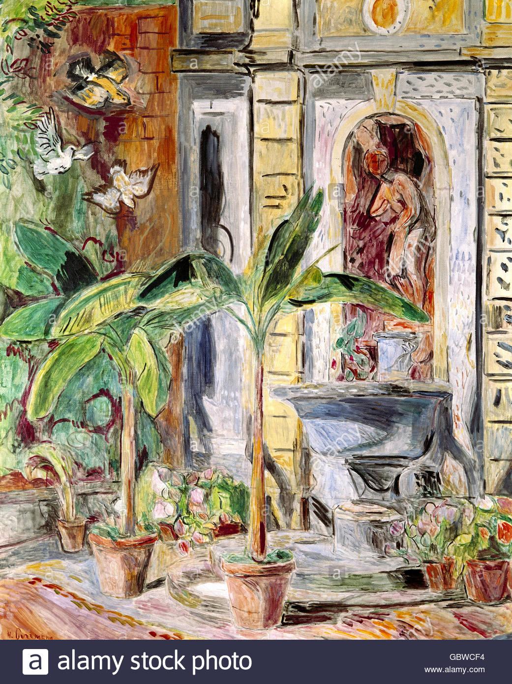 Fine Arts Purrmann Hans Marsilius 10 04 1880 17 4 1966 Stock