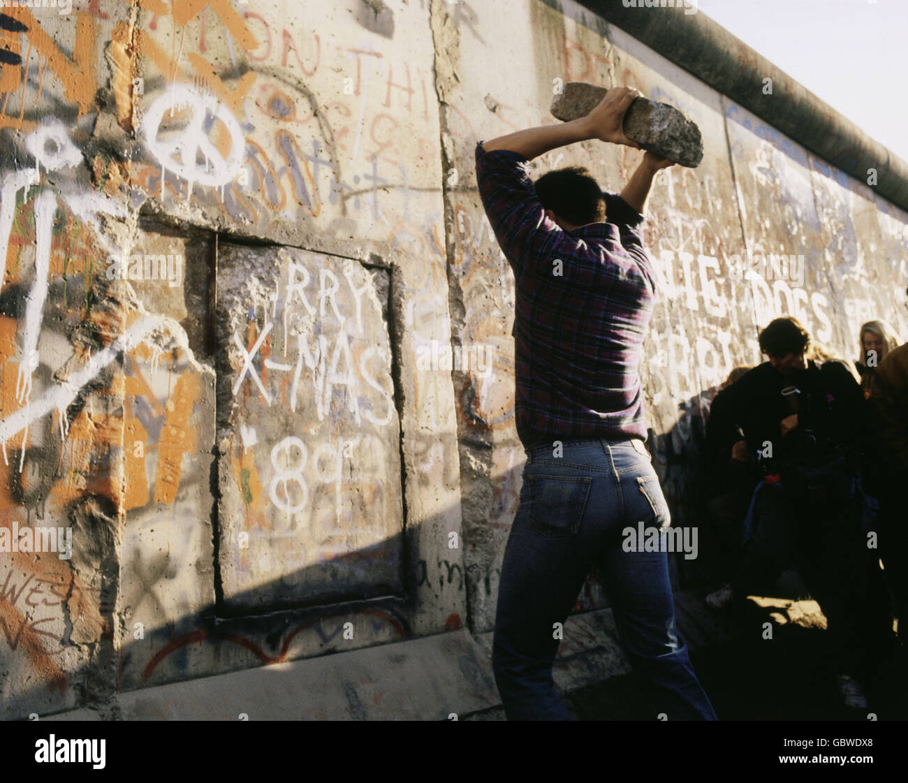 In what year the Berlin Wall was destroyed