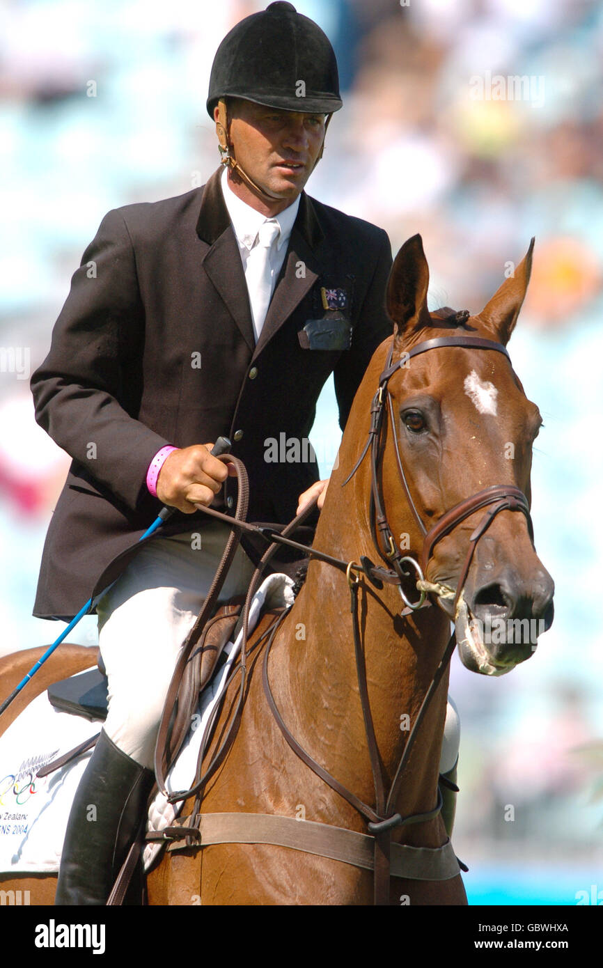 Equestrian - Athens Olympic Games 2004 - Three Day Eventing - Show Jumping - Horse Inspection - Stock Image