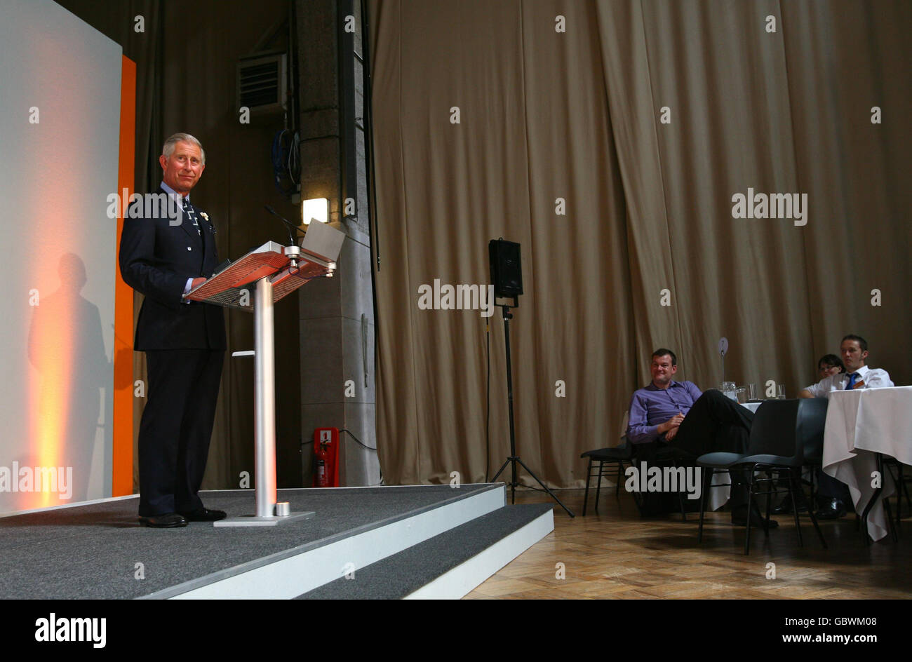 Charles attends Sustainable Development Commission conference - Stock Image