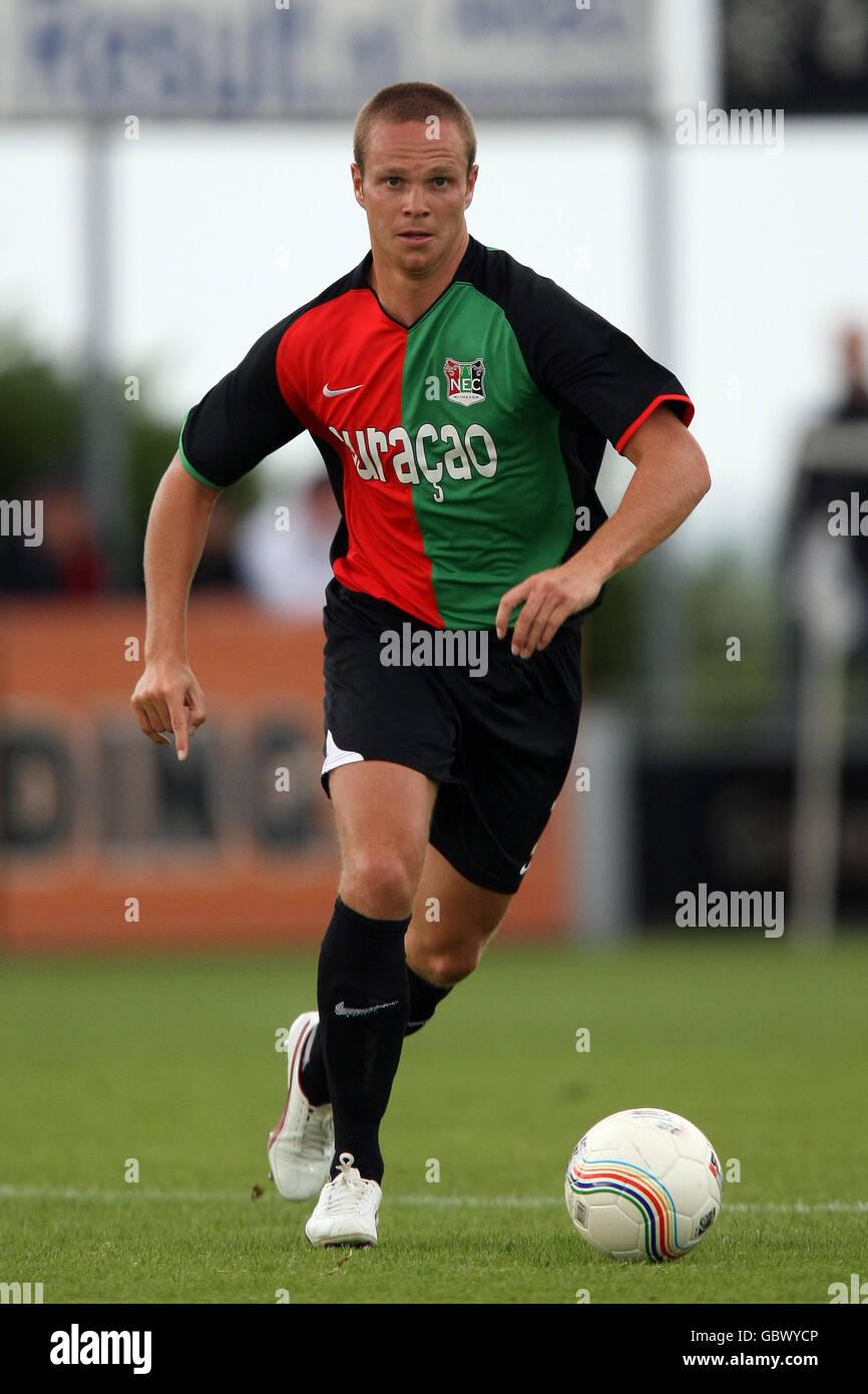 Soccer - Pre Season Friendly - RW Oberhausen v NEC Nijmegen Groesbeek - - Stock Image