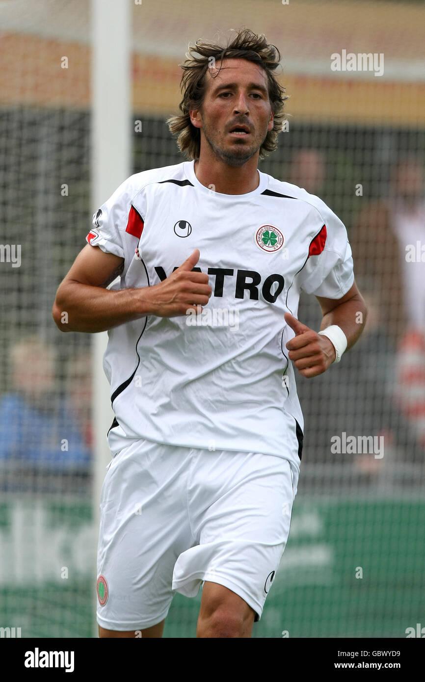 Soccer - Pre Season Friendly - RW Oberhausen v NEC Nijmegen - Groesbeek - Stock Image