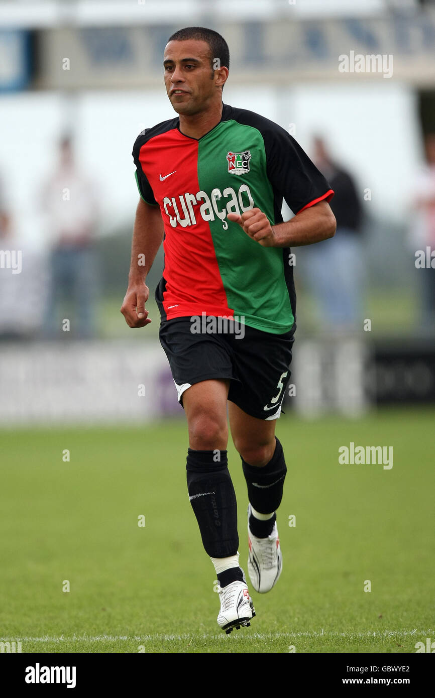 Soccer - Pre Season Friendly - RW Oberhausen v NEC Nijmegen Groesbeek - Stock Photo