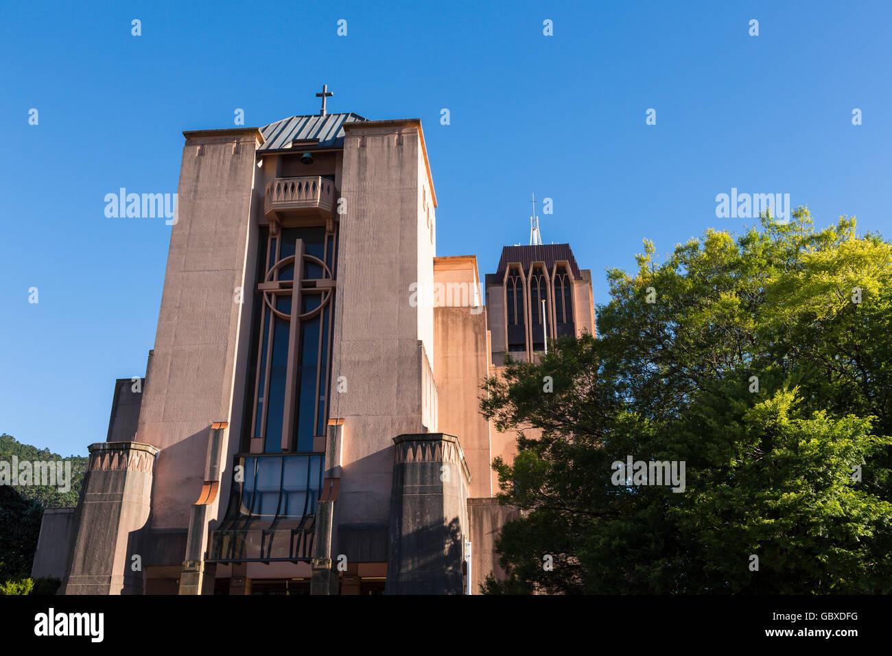 St Pauls cathedral, Wellington, New Zealand Stock Photo
