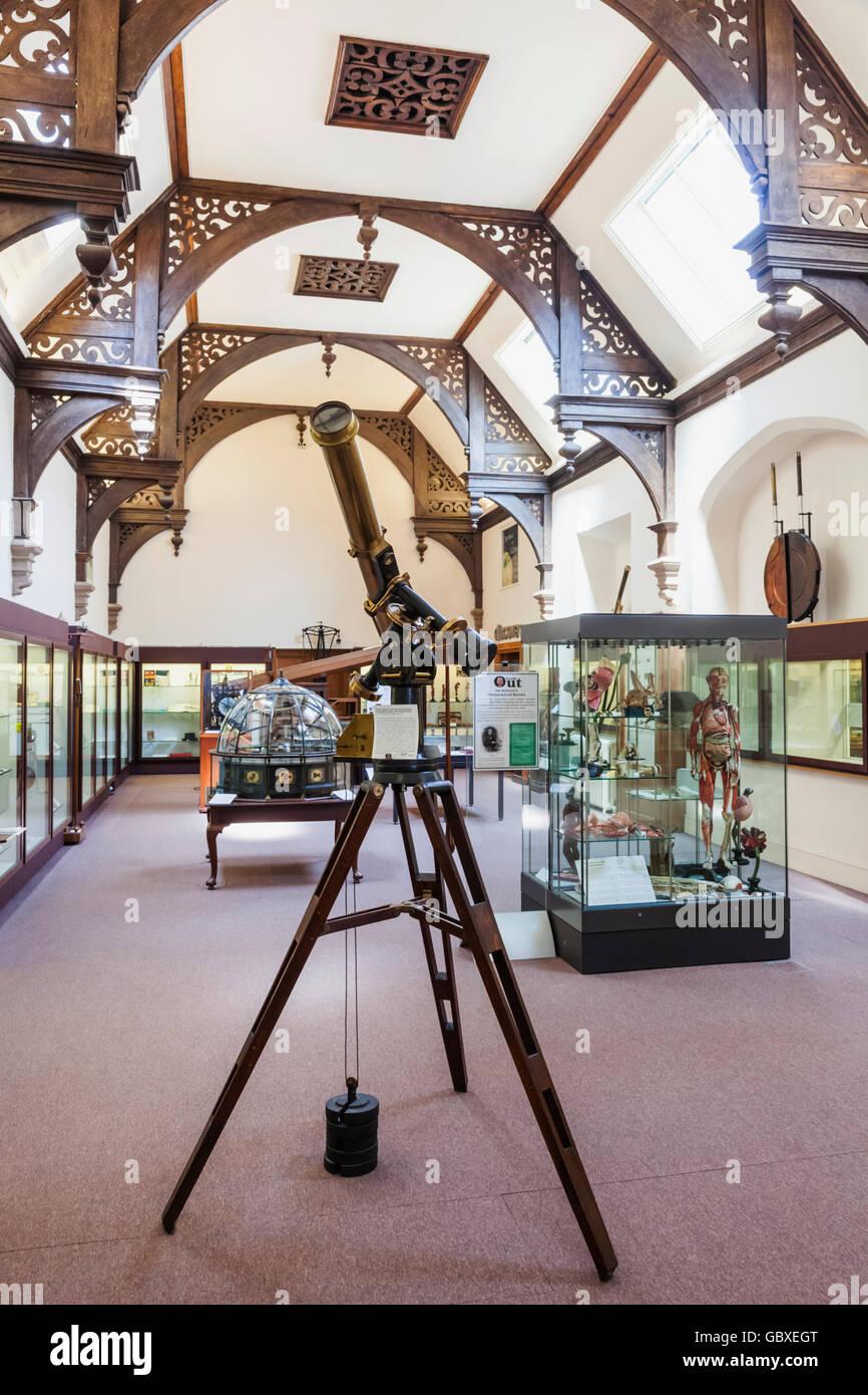 England, Cambridgeshire, Cambridge, Whipple Museum of the History of Science - Stock Image