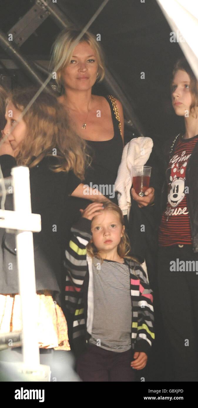 Lily Allen Concert - London - Stock Image