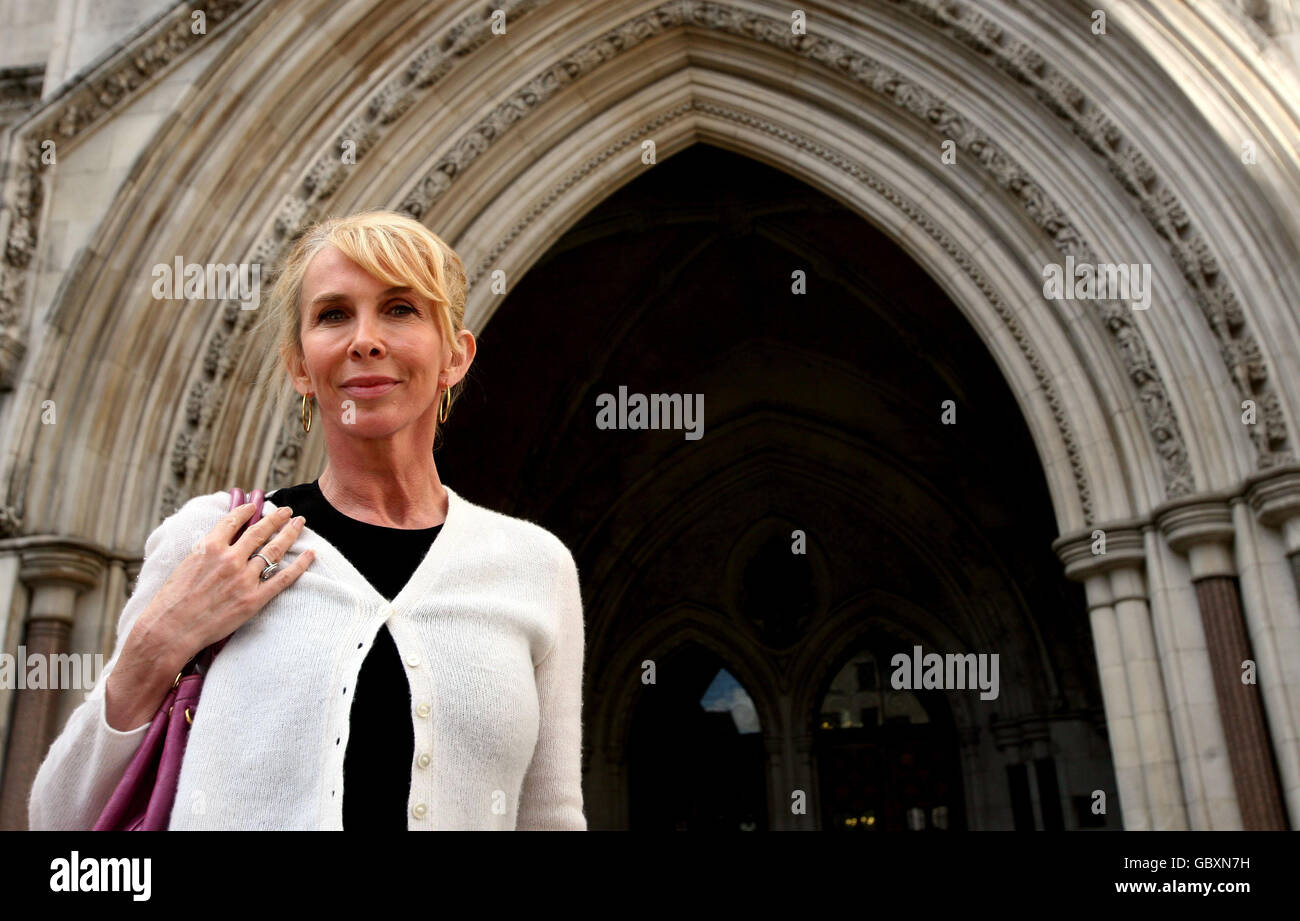Sting And Wife Trudie Styler Stock Photos & Sting And Wife