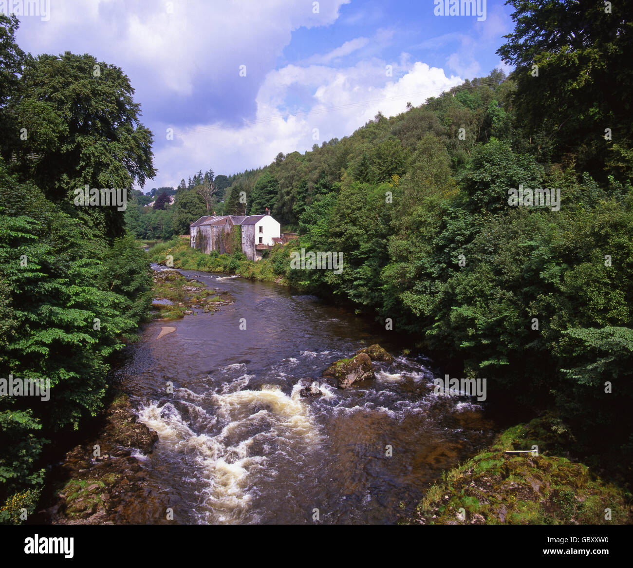 River Esk, Dumfries - Stock Image