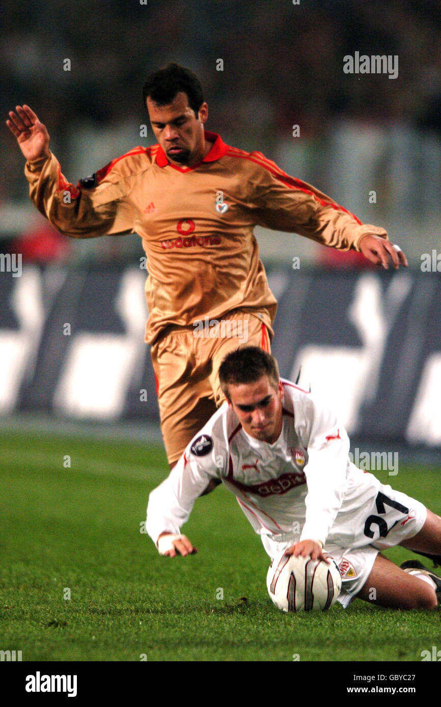 Soccer - UEFA Cup - Group G - VFB Stuttgart v Benfica - Stock Image