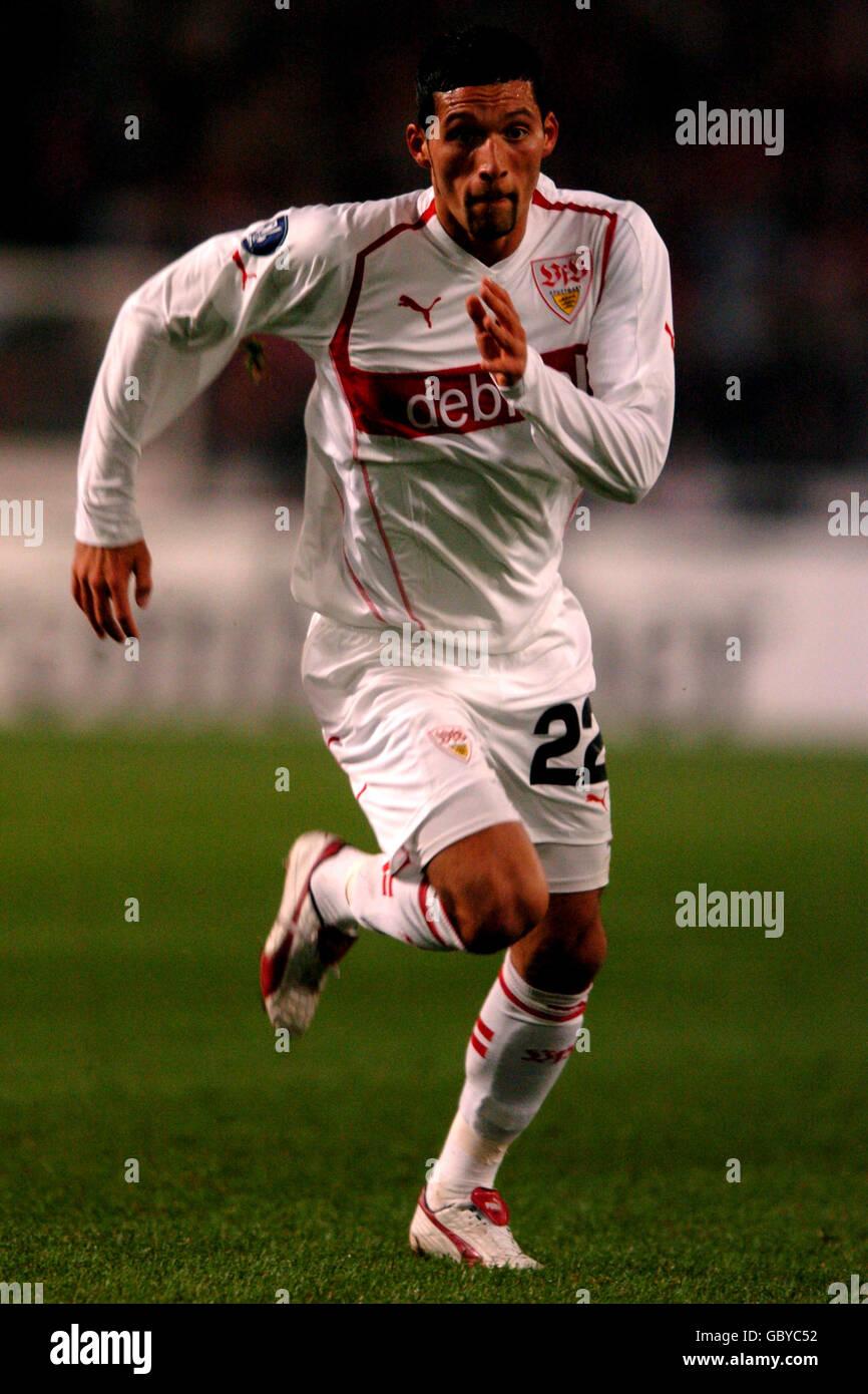 Soccer - UEFA Cup - Group G - VFB Stuttgart v Benfica Stock Photo
