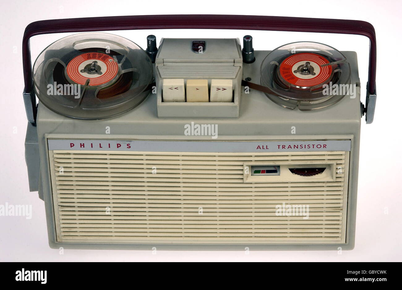Transistor 1960s Stock Photos Images Alamy The In A Century Of Electronics Technics Tape Recorders Portable Philips Recorder All For Reporter