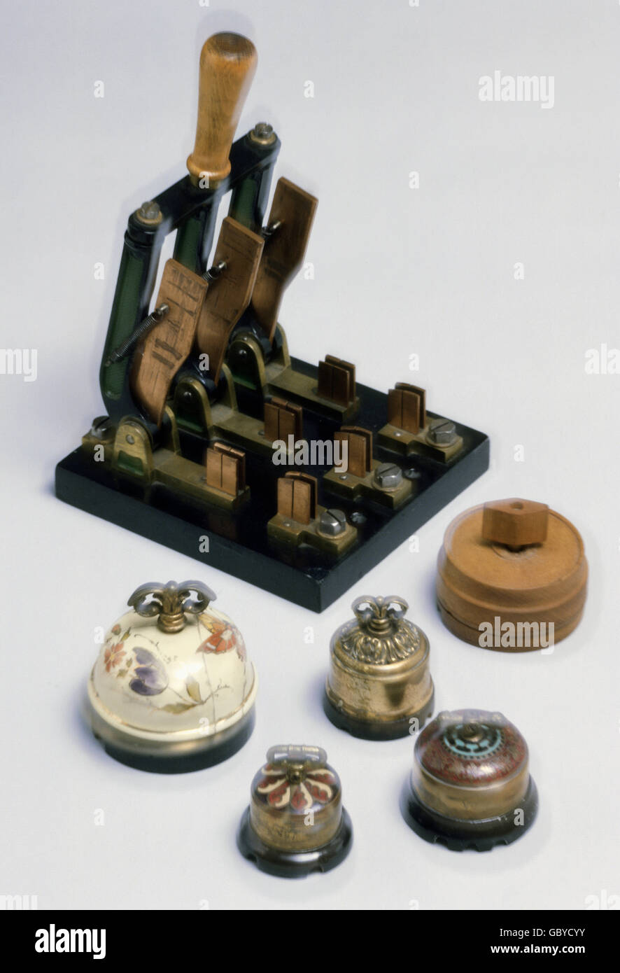Energy Electricity Industrial Household Switches Stock Photos ...