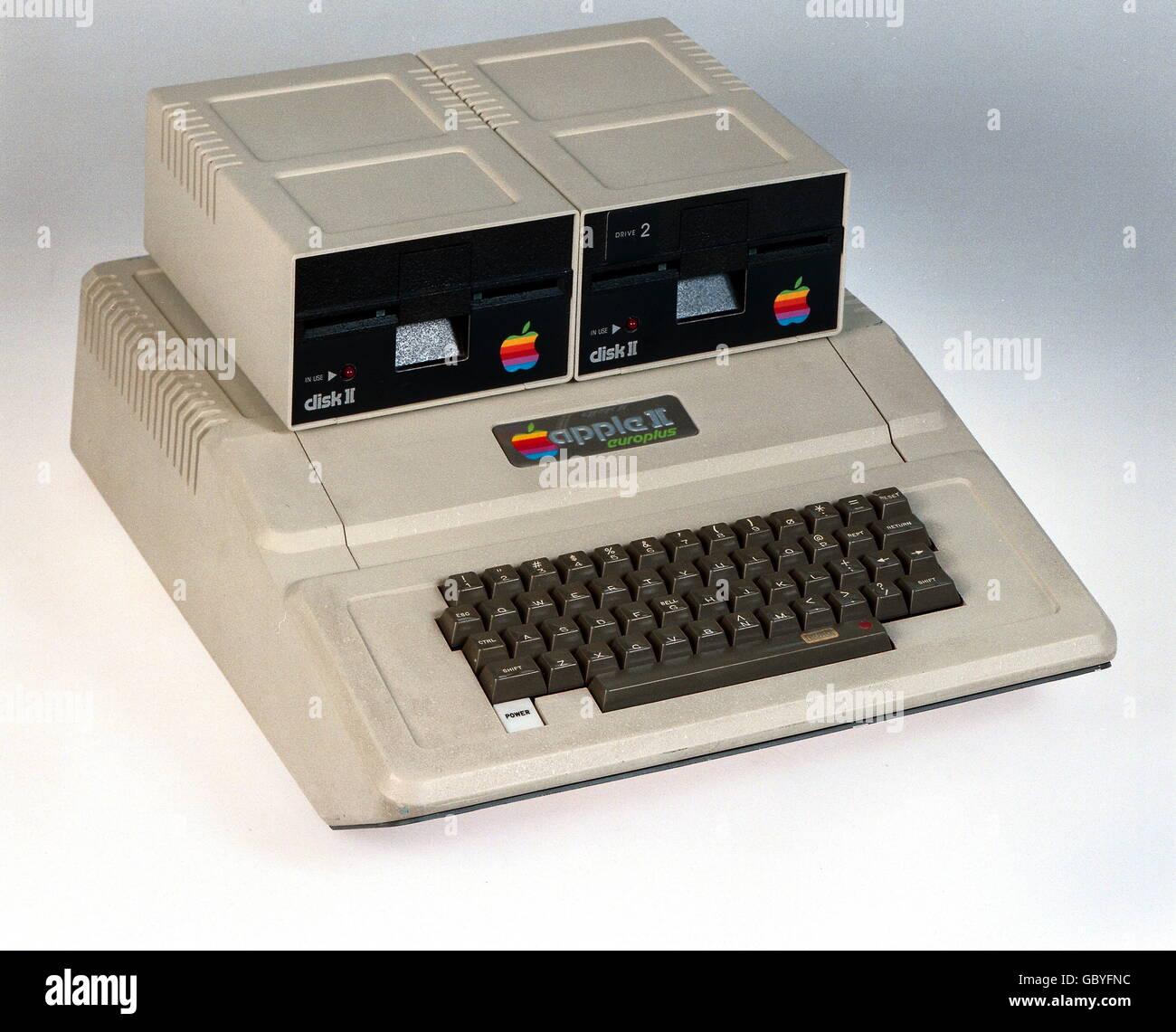 computing / electronics, computer, Apple II Europlus (II+)