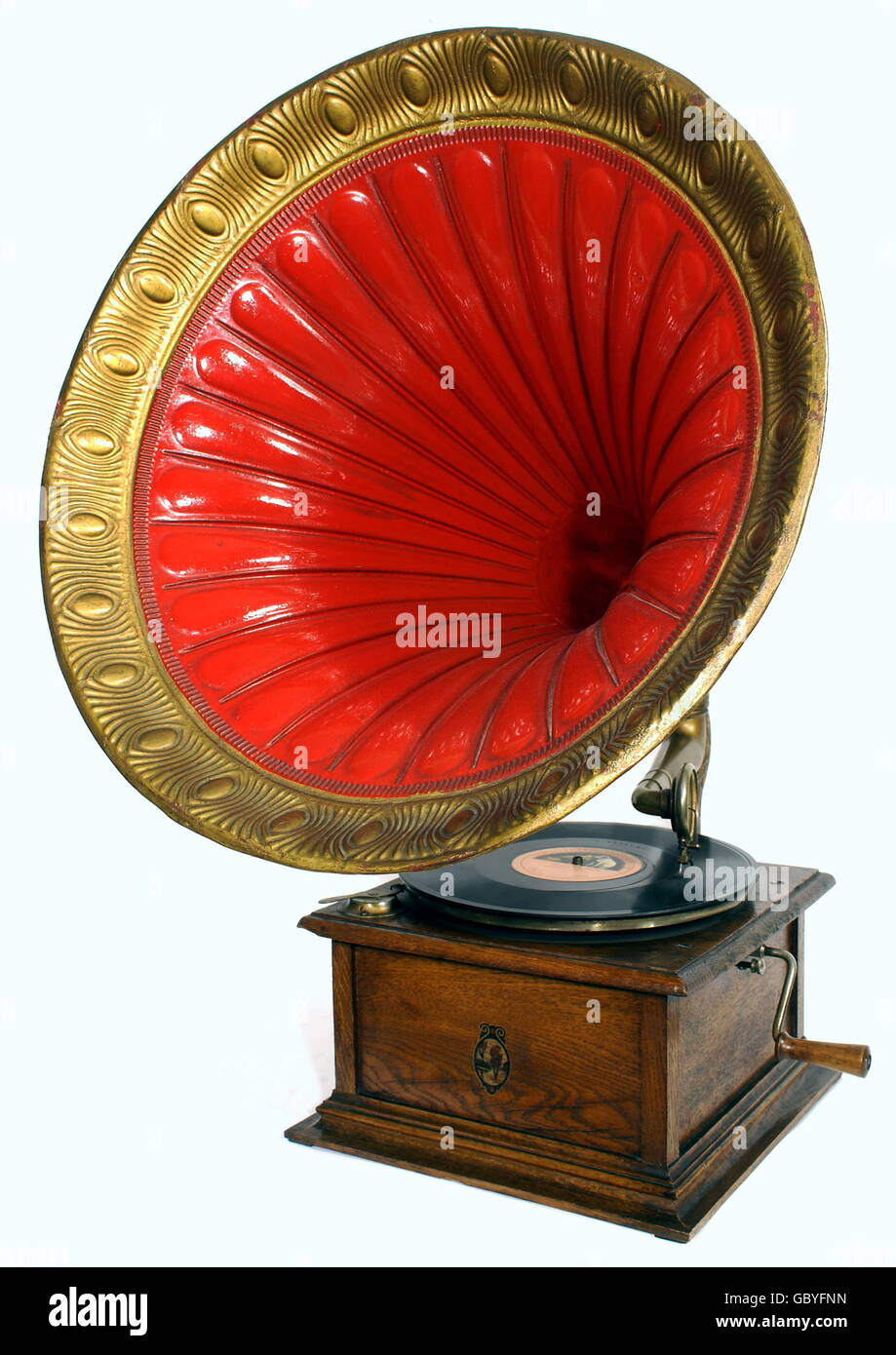 music, musical instruments, gramophone, for children, version Bingola II, made by Bing company, Nuremberg, Germany, - Stock Image
