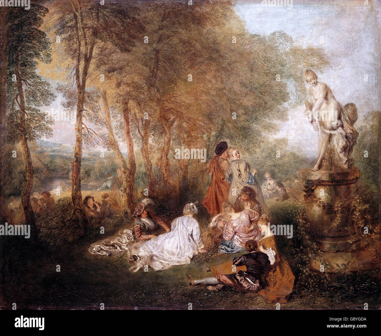 French Rococo Painting Stock Photos French Rococo Painting Stock - Rococo painting