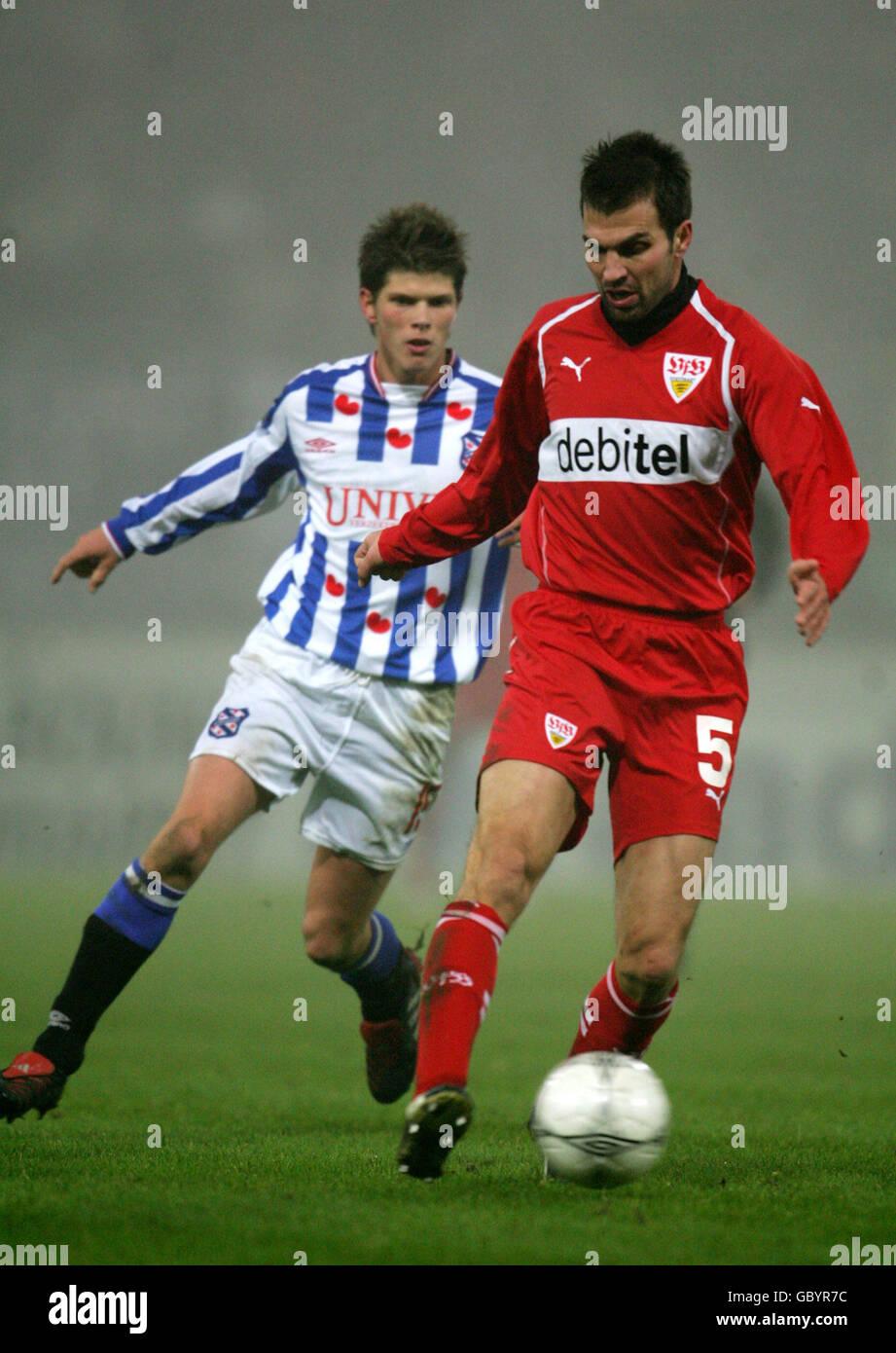 Soccer - UEFA Cup - Group G - Heerenveen v VFB Stuttgart - Stock Image