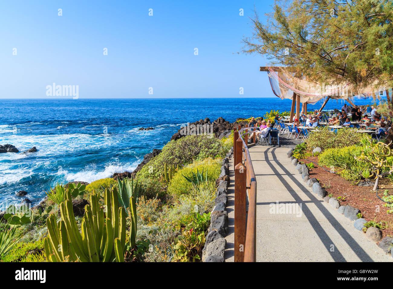 Buenavista Del Norte Tenerife Nov 15 2015 Walkway Along