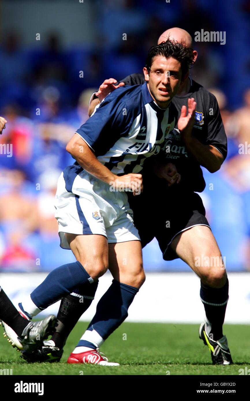 Soccer - Friendly - Everton v Real Sociedad - Stock Image