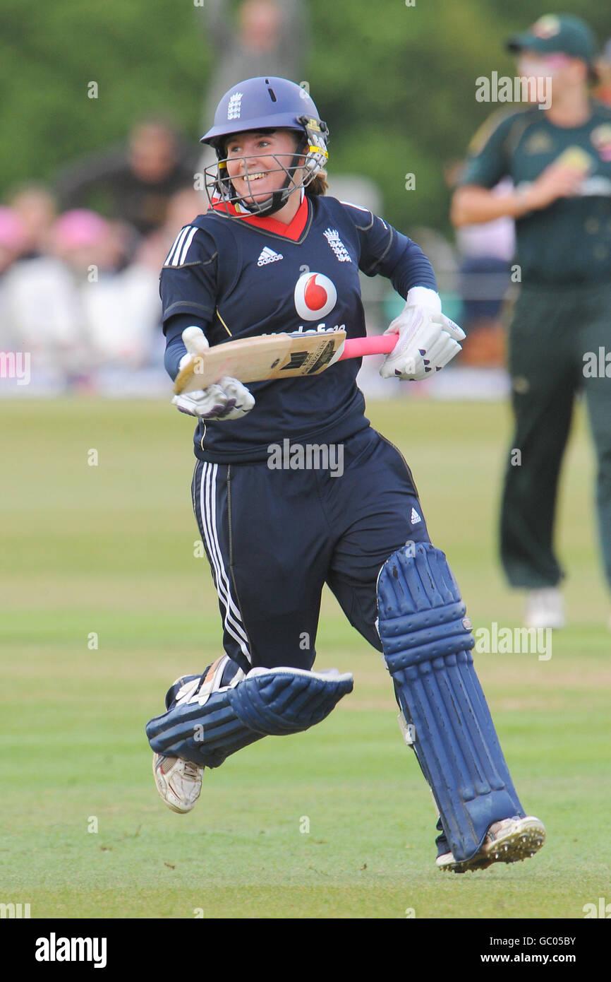 Cricket - The NatWest Women's Series - Fourth One Day International - England v Australia - Wormsley Cricket - Stock Image
