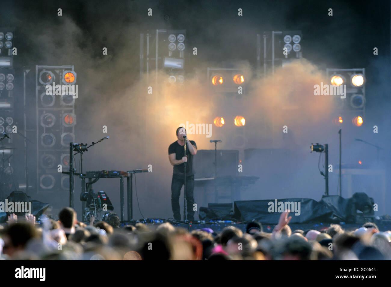 Sonisphere Festival - Knebworth - Stock Image