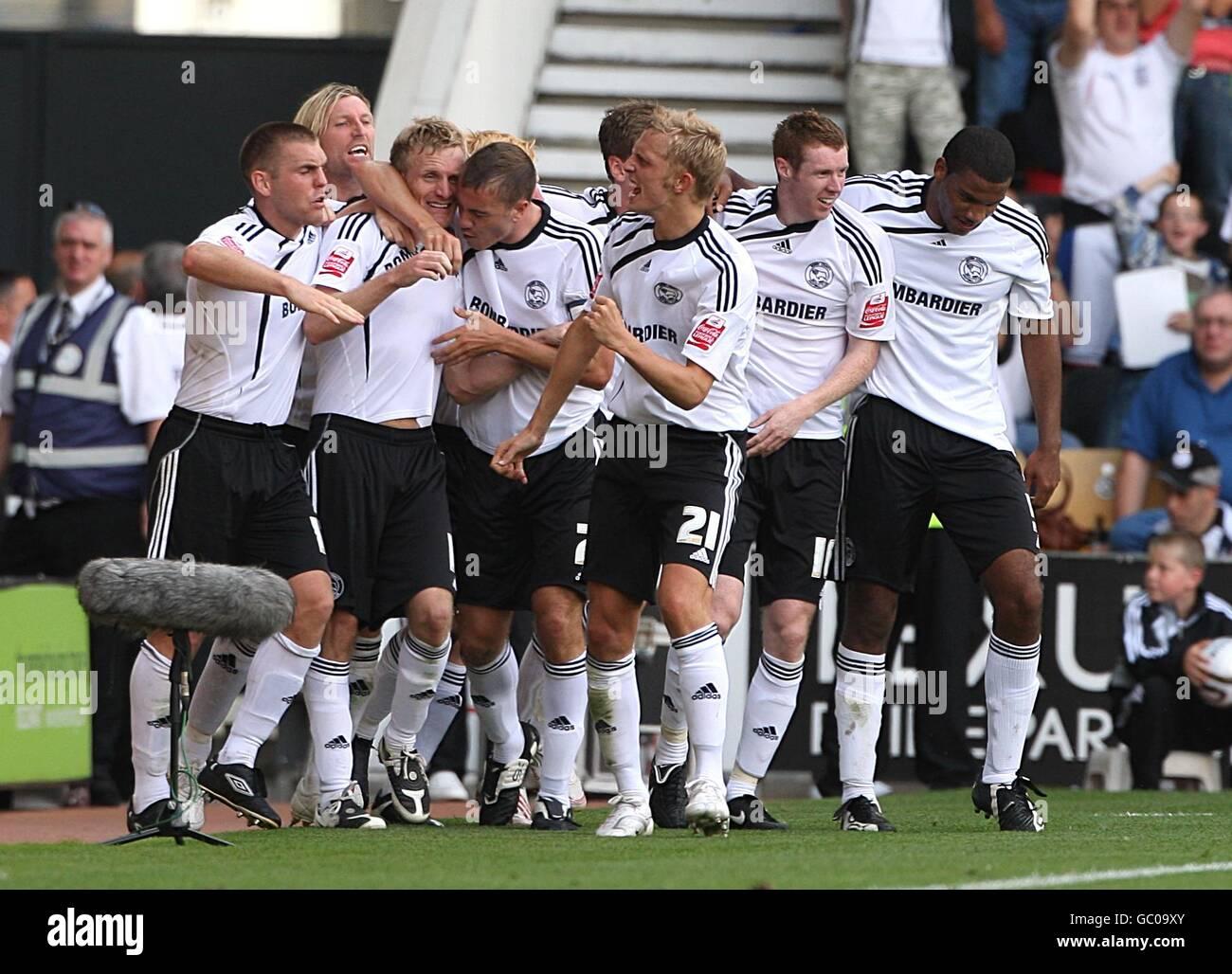 Soccer - Coca-Cola Football League Championship - Derby County v Peterborough United - Pride Park - Stock Image