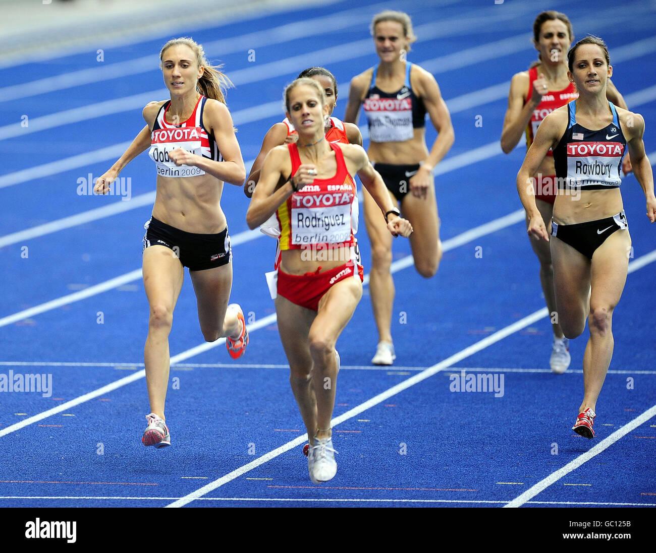 Athletics - IAAF World Athletics Championships - Day Nine - Berlin 2009 - Olympiastadion - Stock Image