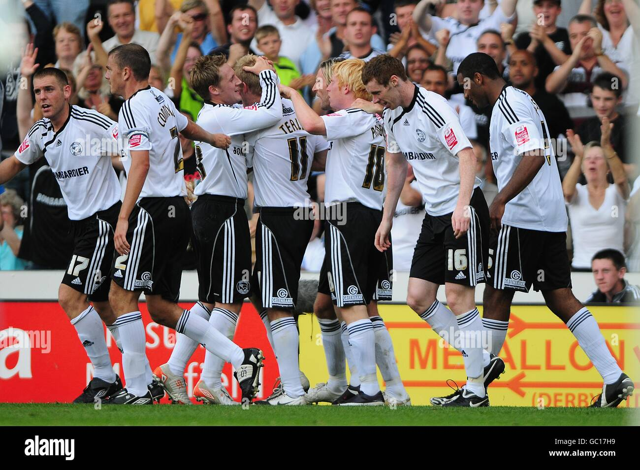 Soccer - Coca-Cola Football League Championship - Derby County v Peterborough United - Pride Park Stock Photo