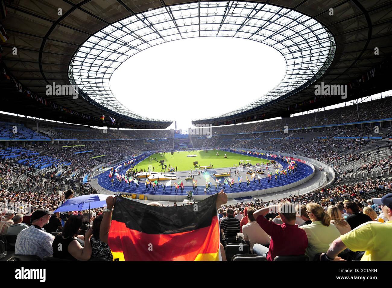 Athletics - IAAF World Athletics Championships - Day Two - Berlin 2009 - Olympiastadion - Stock Image