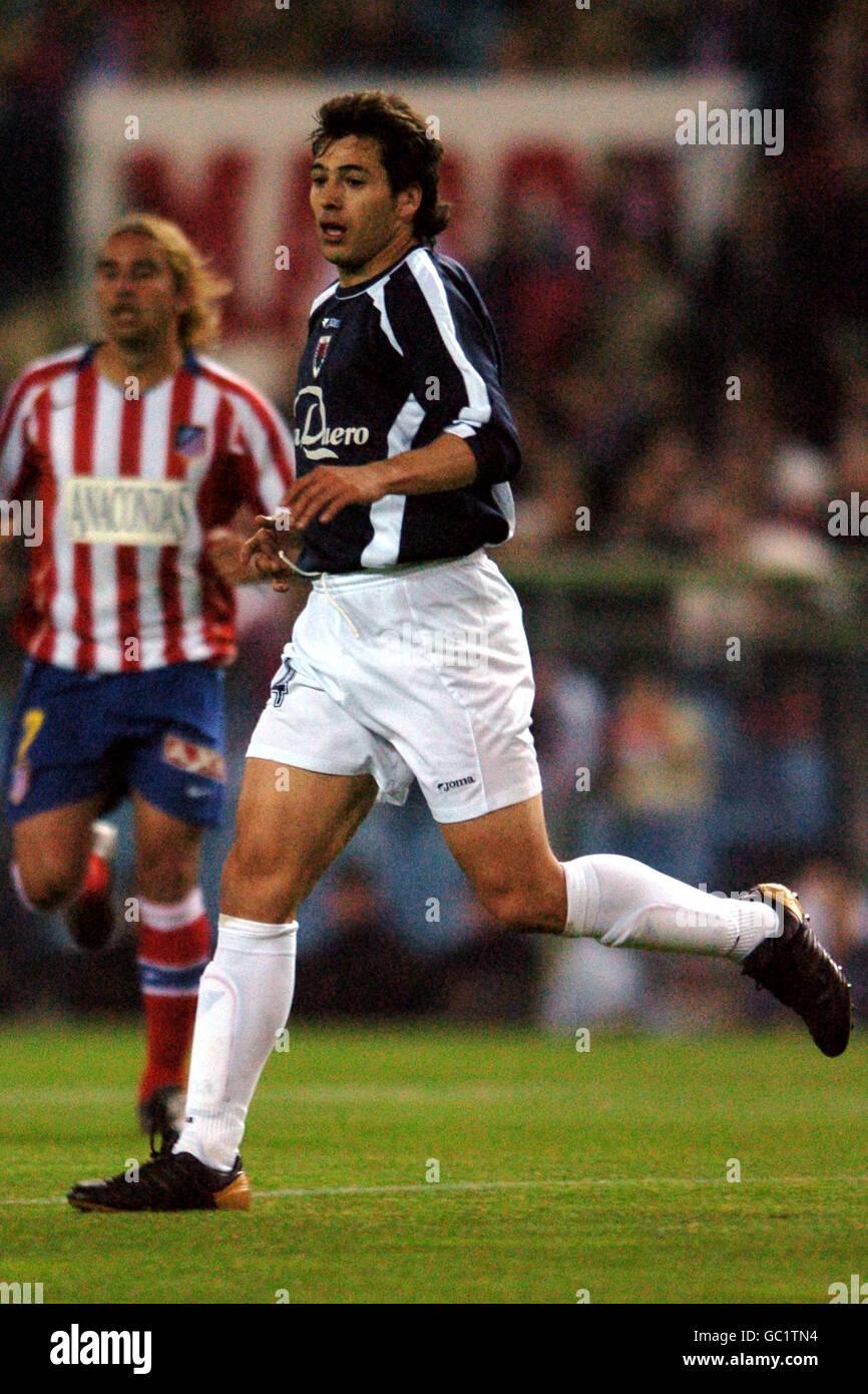 Spanish Soccer - Primera Liga - Atletico Madrid v Numancia - Stock Image