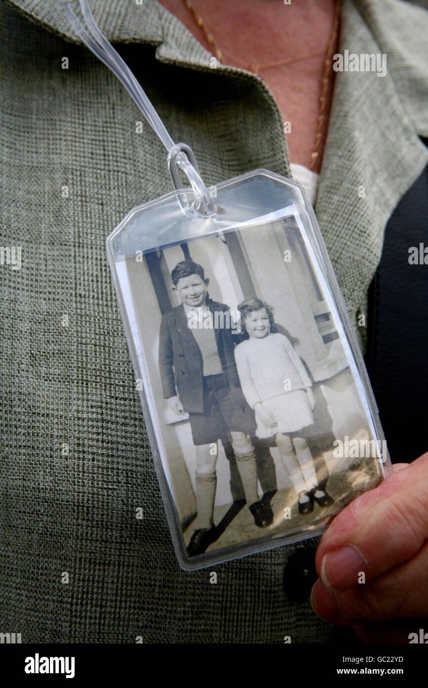 WWII evacuation anniversary - Stock Image