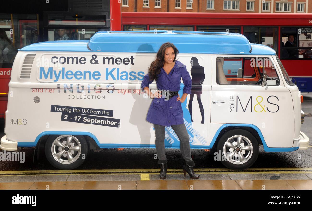 Myleene Klass womenswear launch - Stock Image
