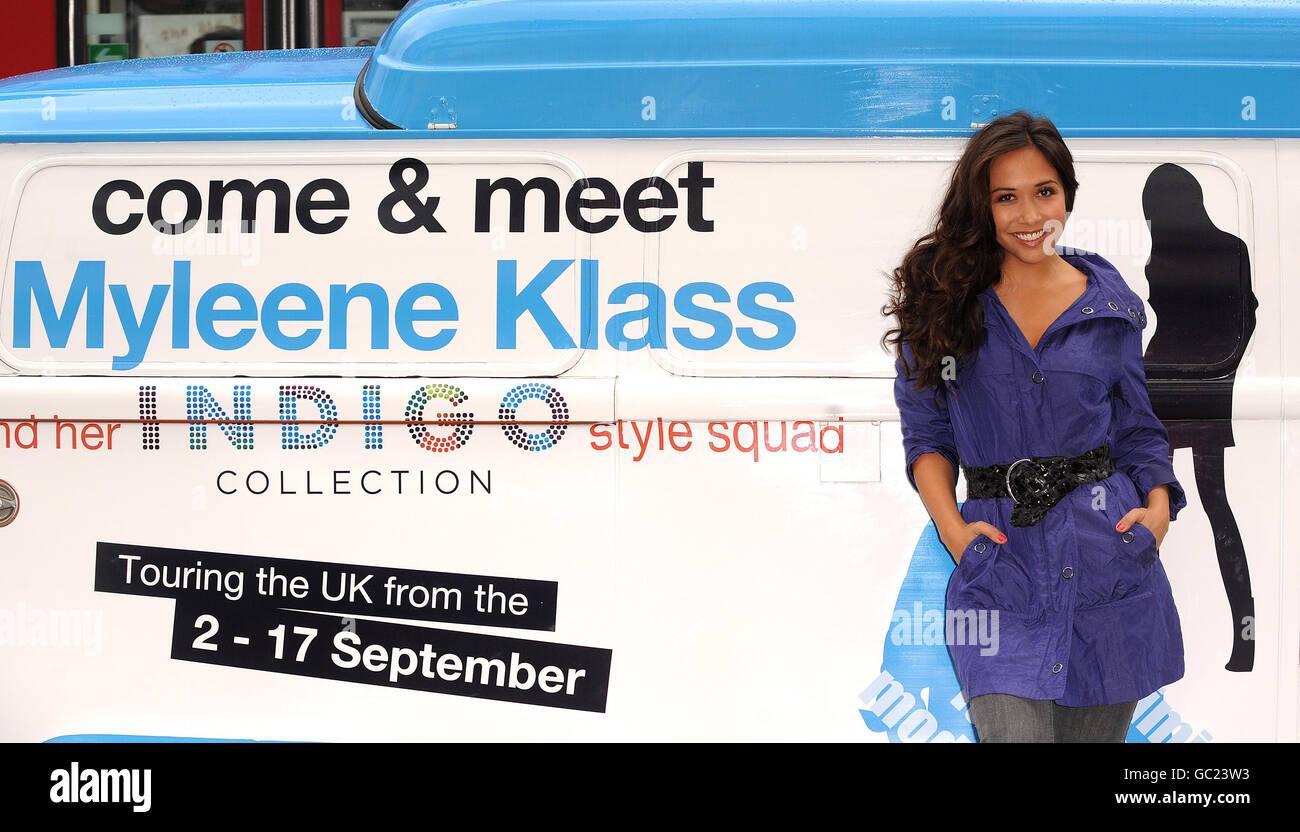 Myleene Klass launches Indigo Collection - London - Stock Image