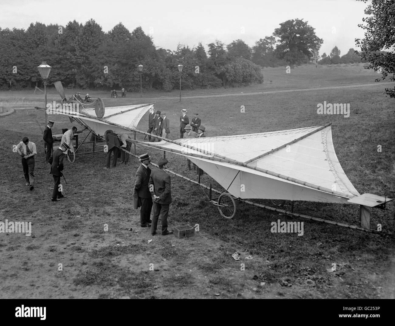 British Transport - Air - Air Shows - Doncaster - 1909 - Stock Image