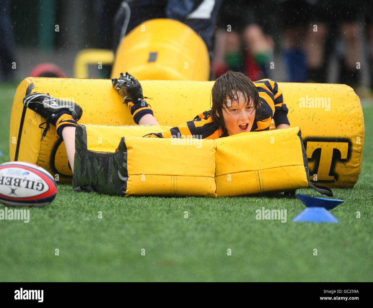 Rugby Union - Edinburgh Rugby Summer Camp - Murrayfield - Stock Image