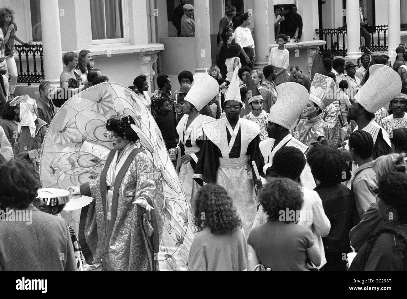 Festivals and Carnivals - The Notting Hill Carnival - London - Stock Image