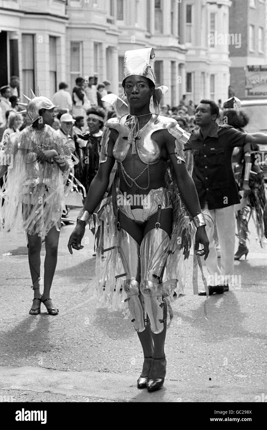 Festivals and Carnivals - The Notting Hill Carnival - Stock Image