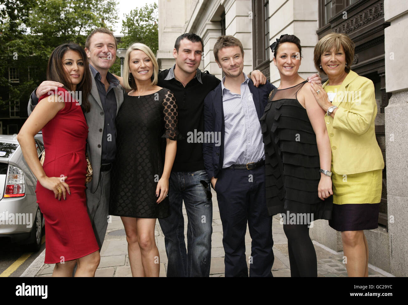 Strictly Come Dancing contestants revealed - Stock Image