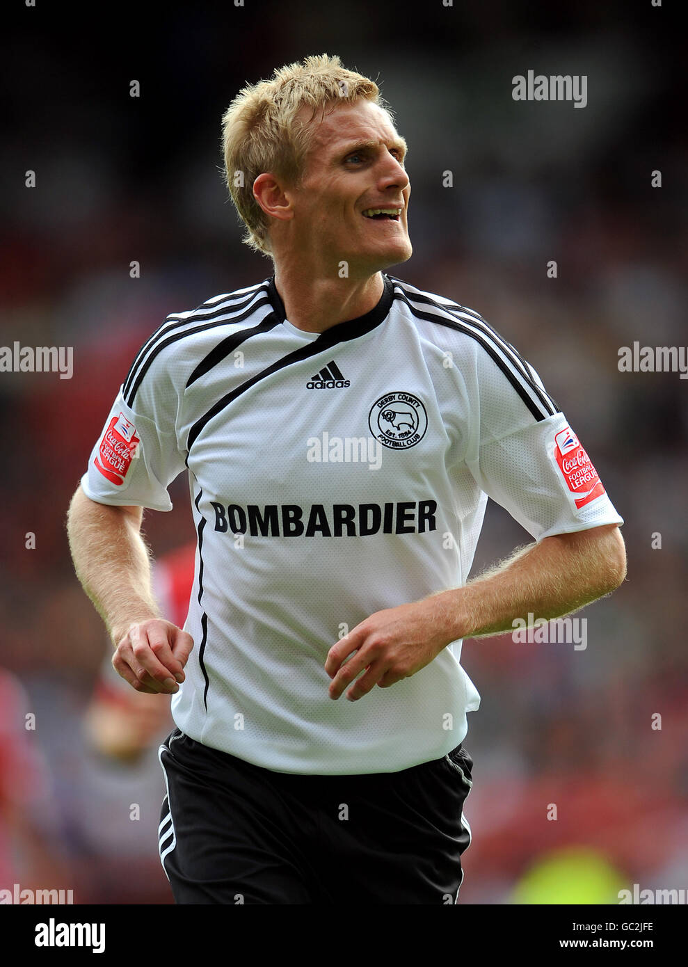 Soccer - Coca-Cola Football League Championship - Nottingham Forest v Derby County - City Ground - Stock Image