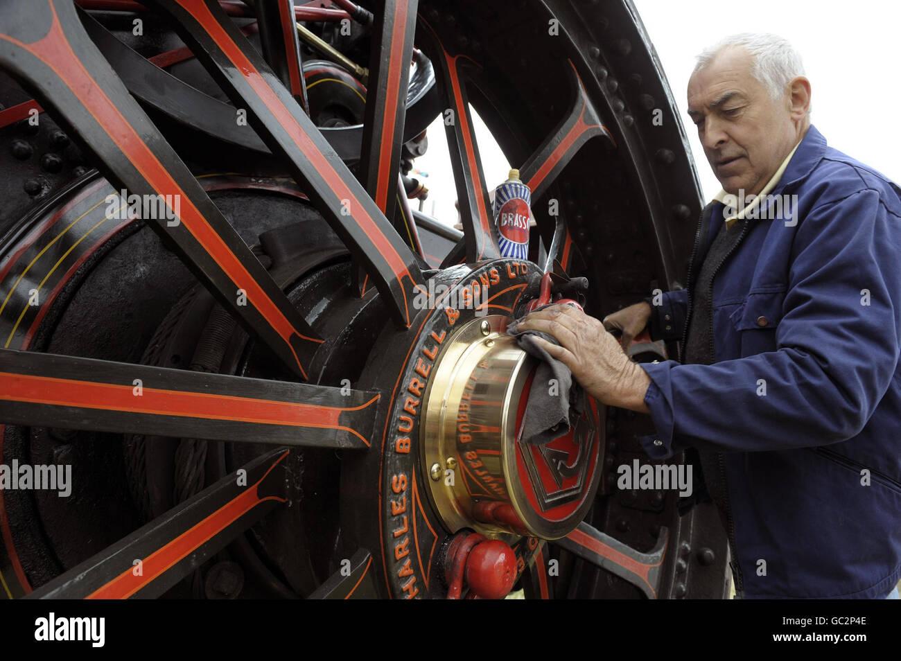 Barleylands Steam Fair - Stock Image
