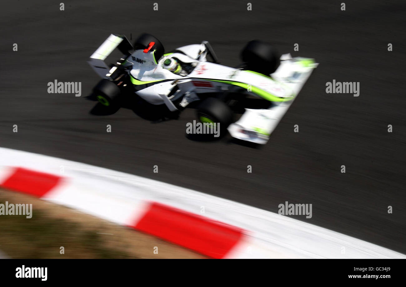 Formula One Motor Racing - Italian Grand Prix - Qualifying - Monza Stock Photo