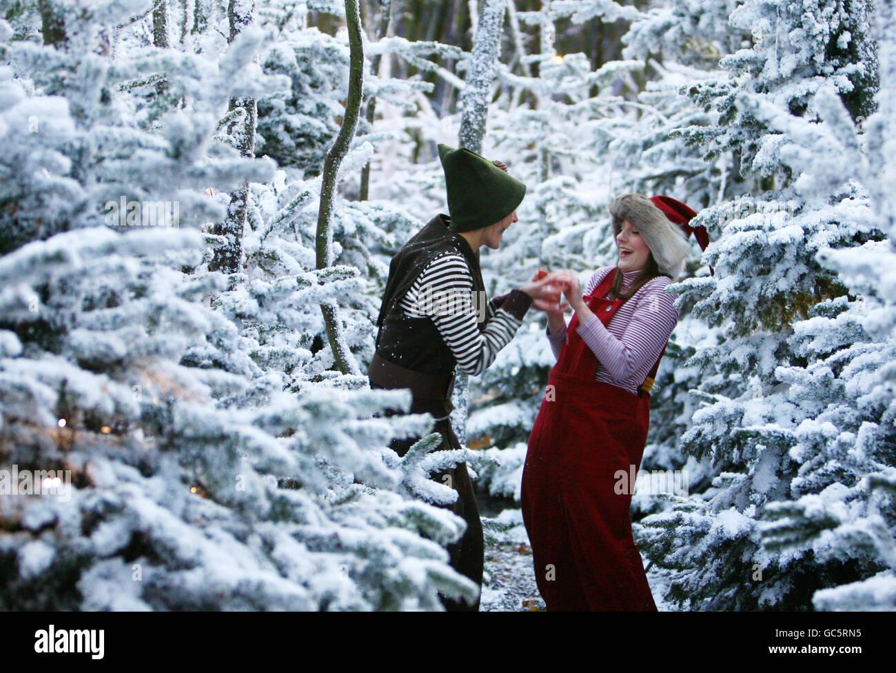 Lapland UK - Stock Image