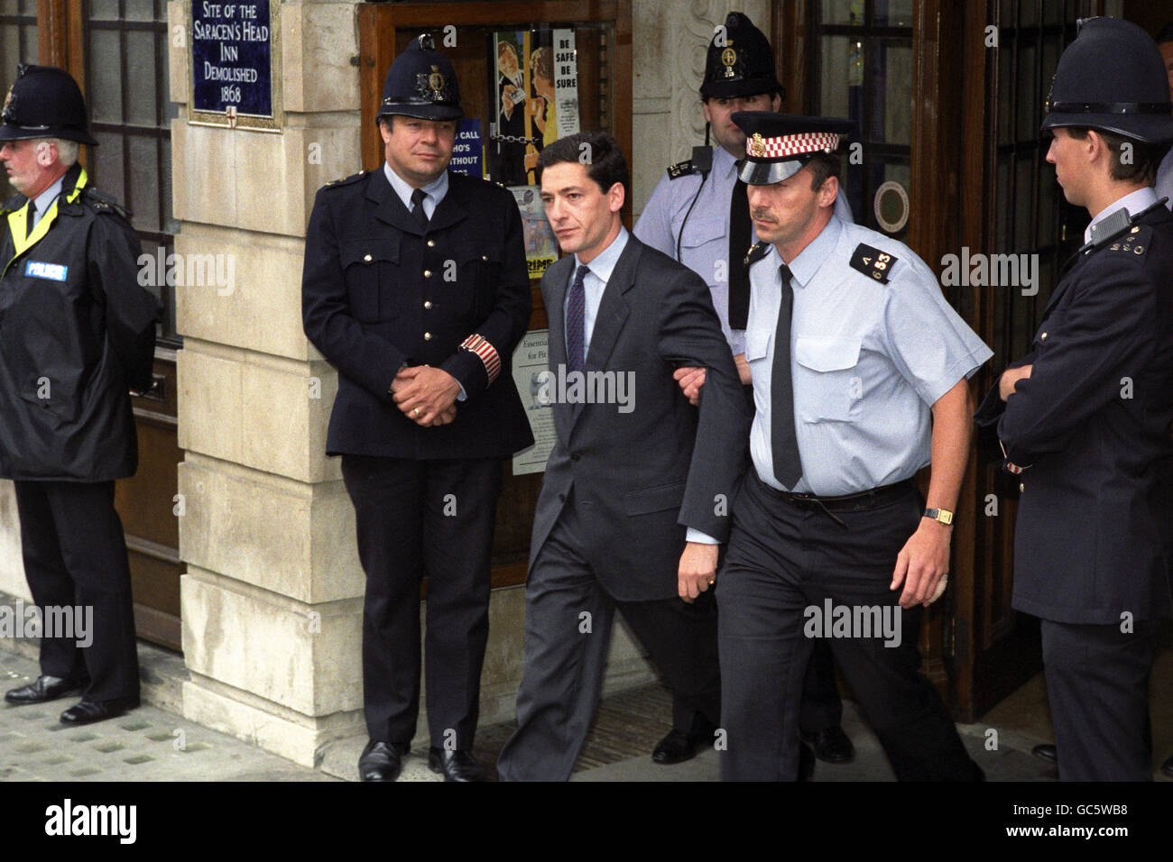KEVIN MAXWELL AFTER CHARGED Stock Photo