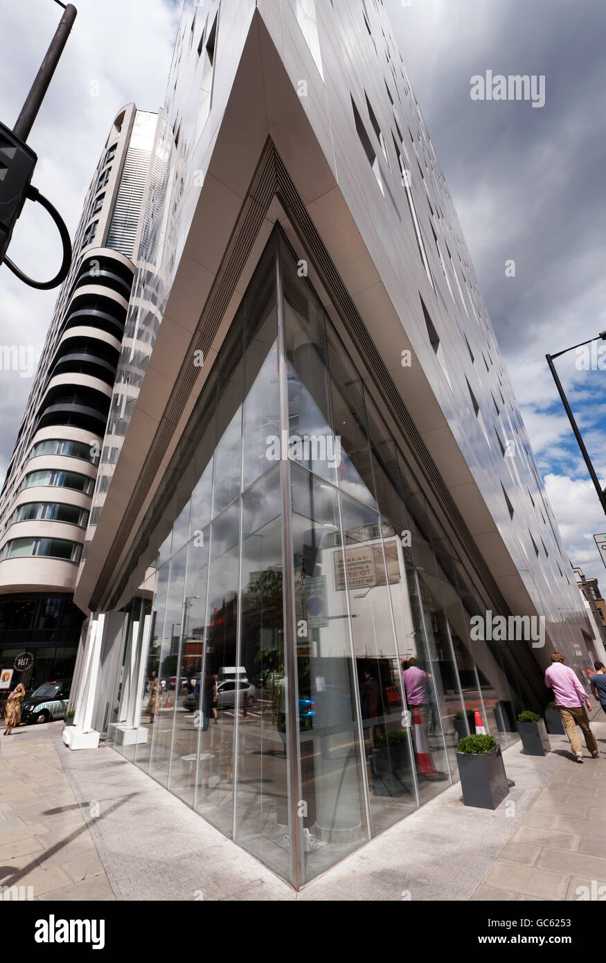 Montcalm Shoreditch: Architectural Details On The Front Of The Luxury Hotel, M