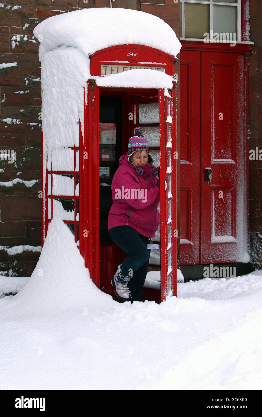 Winter weather - Stock Image