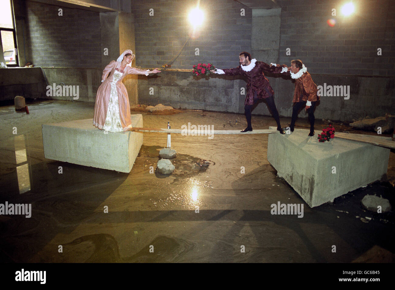 Theatre - Rose Theatre's First Performance - London - Stock Image