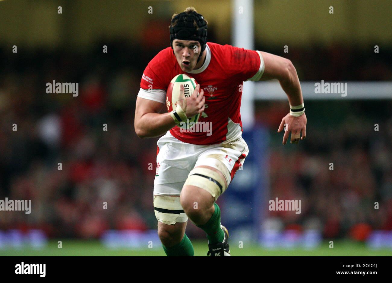 Rugby Union - Invesco Perpetual Series - Wales v Argentina - Millennium Stadium - Stock Image