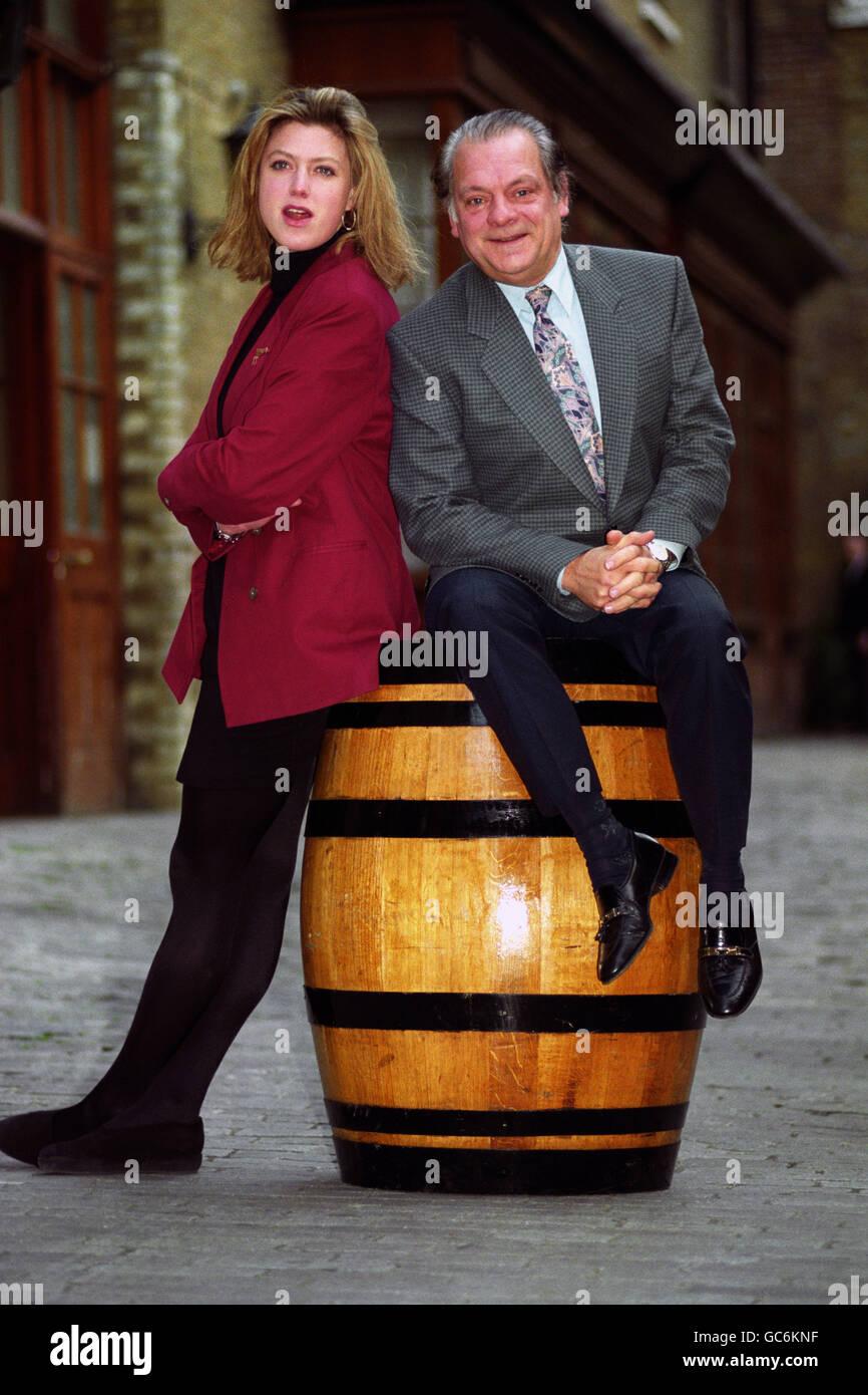 DAVID JASON AND CAROLINE HARKER - Stock Image