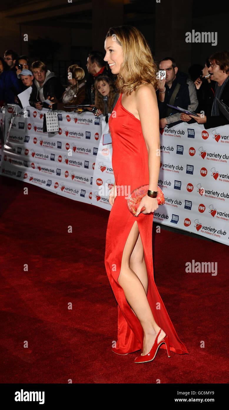 Variety Club Showbiz Awards - London - Stock Image