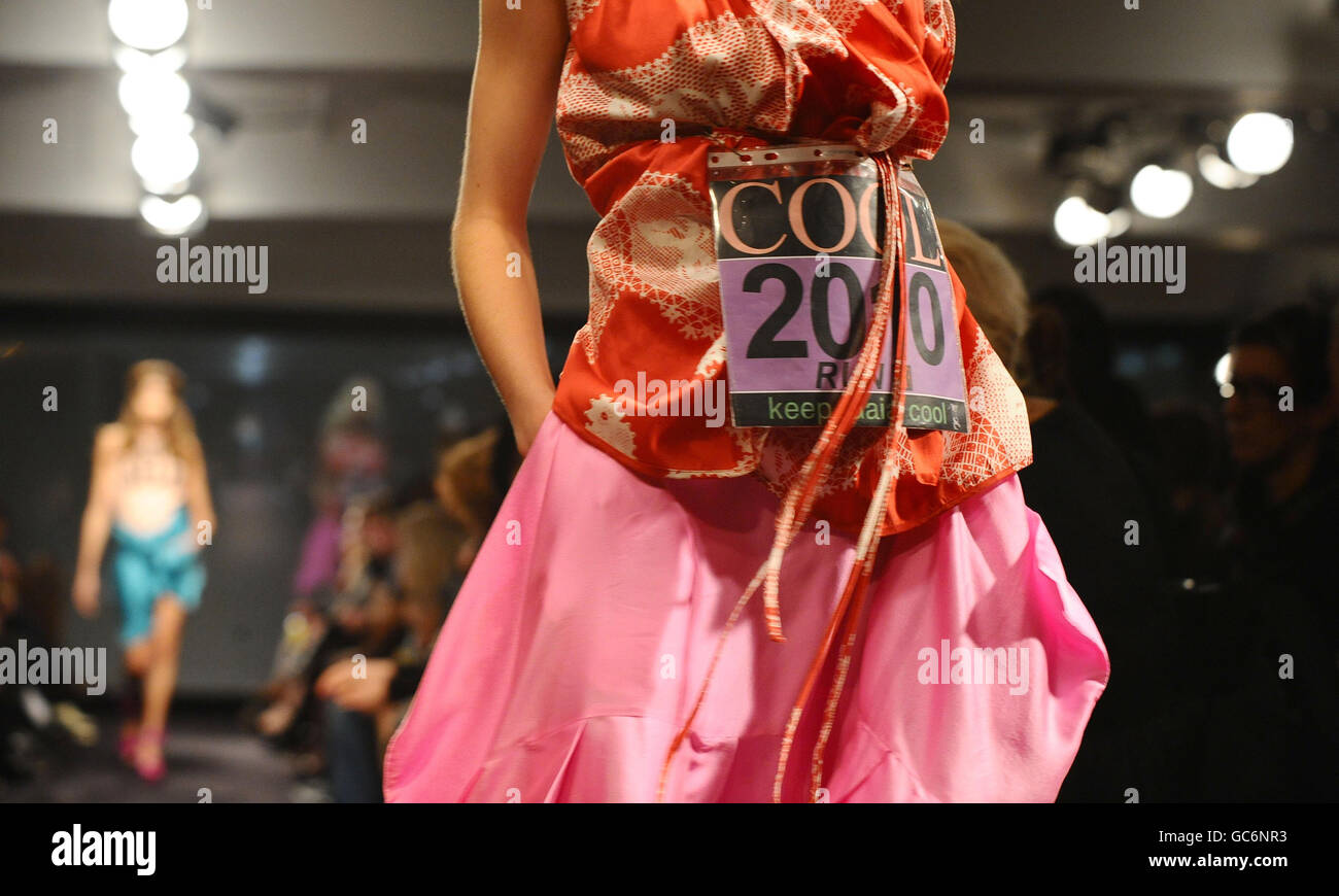 b289895b312 Anglomania by Vivienne Westwood SS10 Catwalk Show - London - Stock Image